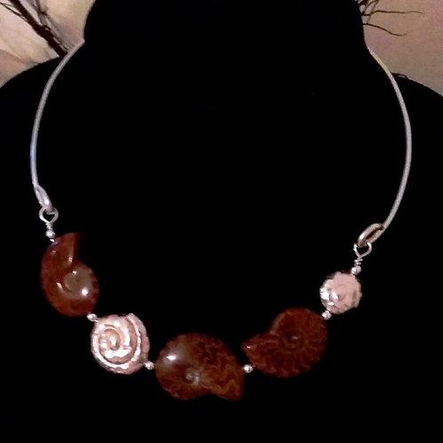 Ammonite Bib Elegance