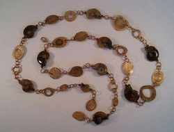 Ammonites Lariat Belt & Necklace