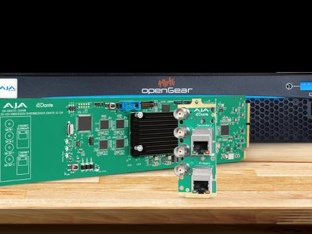 您是否可以將 Dante IP 音訊用於 12G-SDI 工作流程?