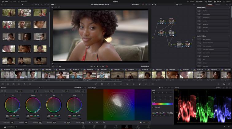DaVinci Resolve色彩管理中增加了眾多功能,可以簡化使用者的工作流程並提升畫質。