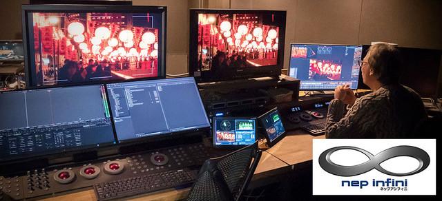 NHK Enterprises使用AJA FS-HDR進行「nep infini」HDR製作工作流程