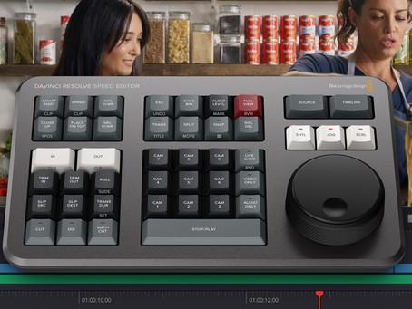 DaVinci Resolve Speed Editor 剪接盤,全新上市!