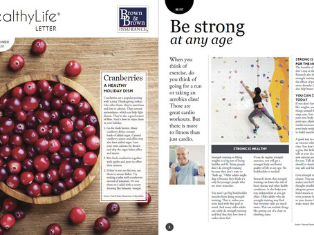 HealthyLife® Letter: November 2020