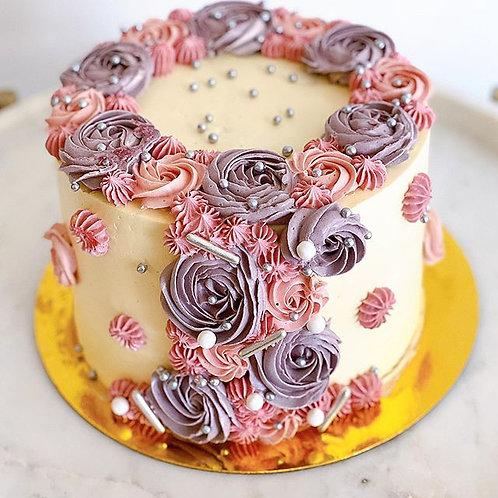 Torta de Vainilla Frutos Rojos