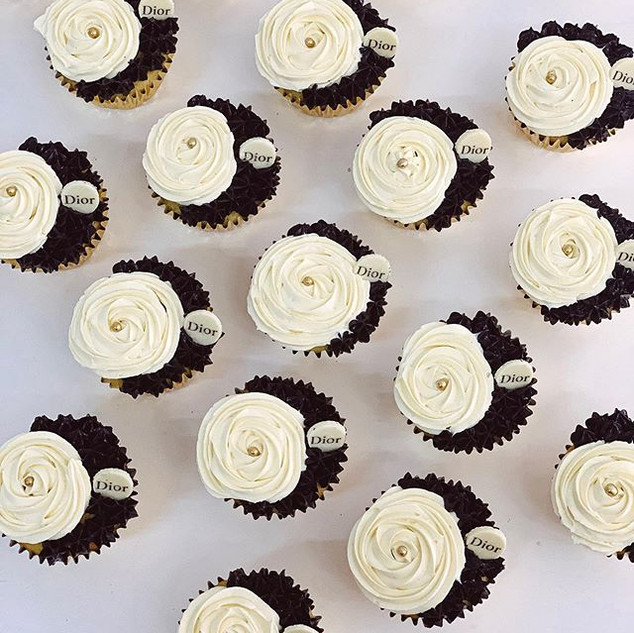 Cupcakes DIOR