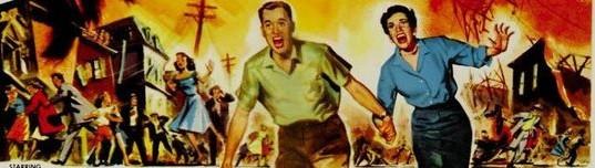Image de terreur collective des années 50