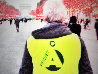 "On ""n'est"" pas un Gilet Jaune, on ""met"" un gilet jaune."