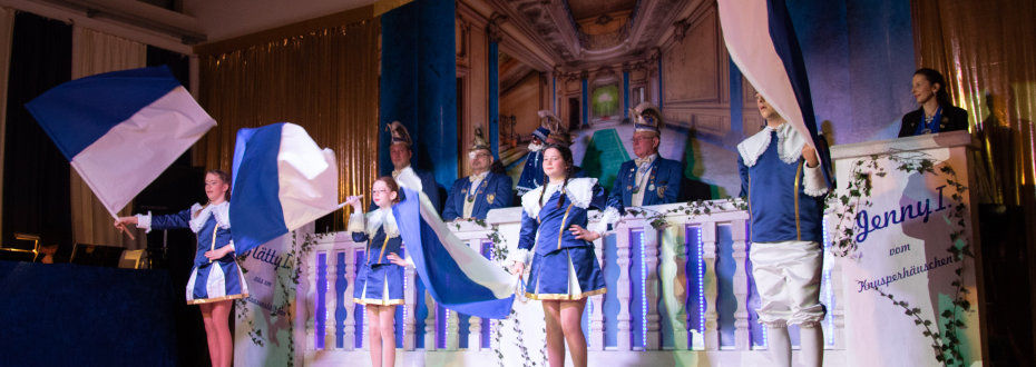 Fahnenschwenker Karneval Trier Ehrang
