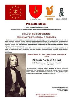 Evento gennaio 2017 Padova