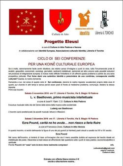 Evento novembre 2016 Padova