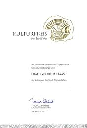 Kulturpreis Stadt Trier 2017