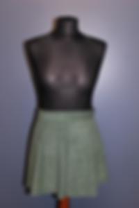 Showtanz Kostüm Samtrock grün zu verkaufen