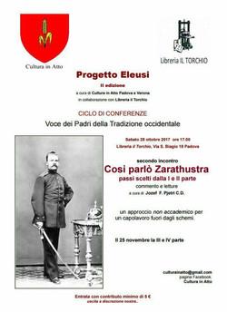 Evento ottobre 2017 Padova