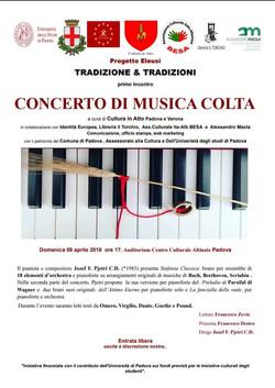 Concerto aprile 2018 Padova