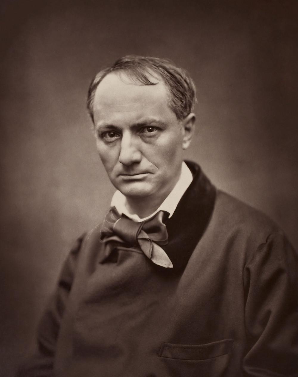 É.Carjat, Portrait of Baudelaire, circa 1862