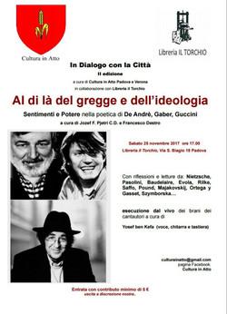 Evento novembre 2017 Padova