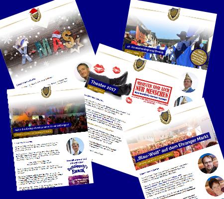 Newsletter Blau-Weiß Ehrang