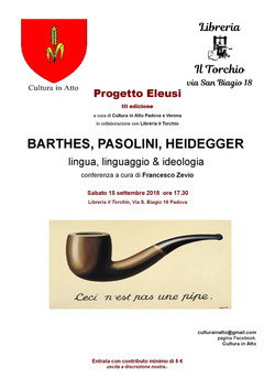 Evento settembre 2018 Padova