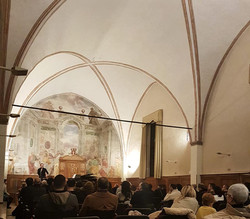 Sala studio teologico Padova 2019