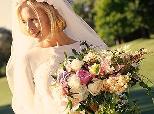 blonde Braut