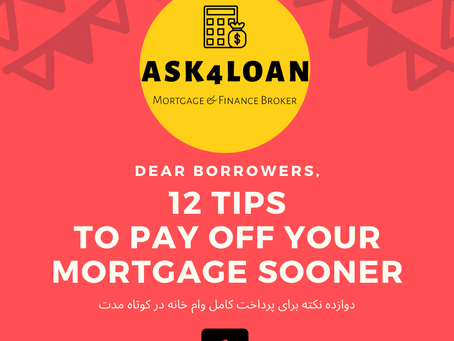 First tip to pay off your loan faster.