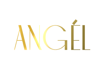 ANGEL gold text