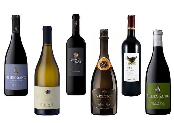 Portugali premium valik veinikeldrisse (6 veini) 75 cl x 6