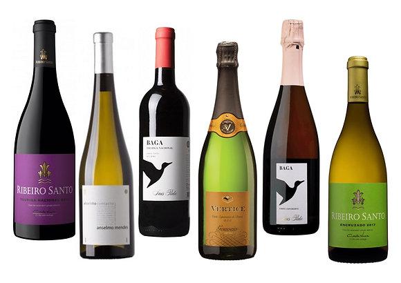 Portugali kohalikud viinamarjad (6 veini) 75 cl x 6