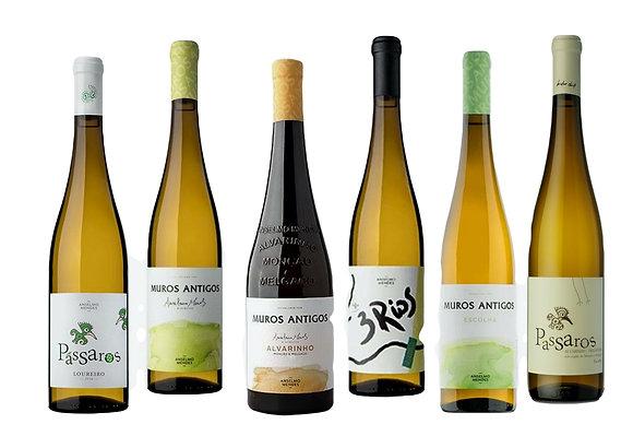 Roheline valik (Vinho Verde veinid) 75 cl x 6