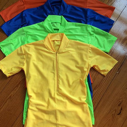 2 zip front, visible brilliant color, moisture wicking SPF spandex.jpg