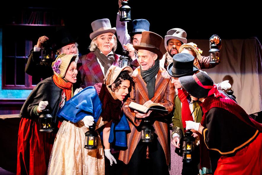 The Cast of A Christmas Carol  A Christmas Carol Titan Theatre Company