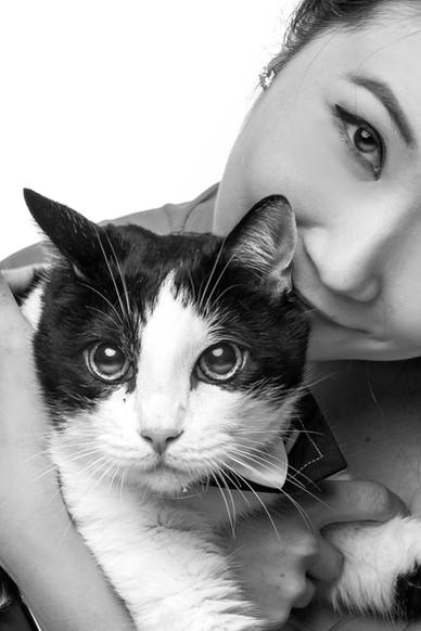 Pet and Family Portrait