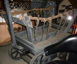 Wagon Cart with Tree Limbs
