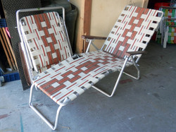 Lawn Lounge Chairs - pair