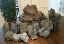 Small Boulders and Rocks
