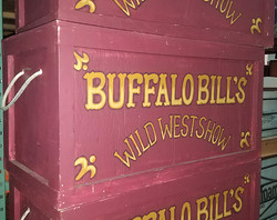 "Circus Boxes ""Buffalo Bills"""
