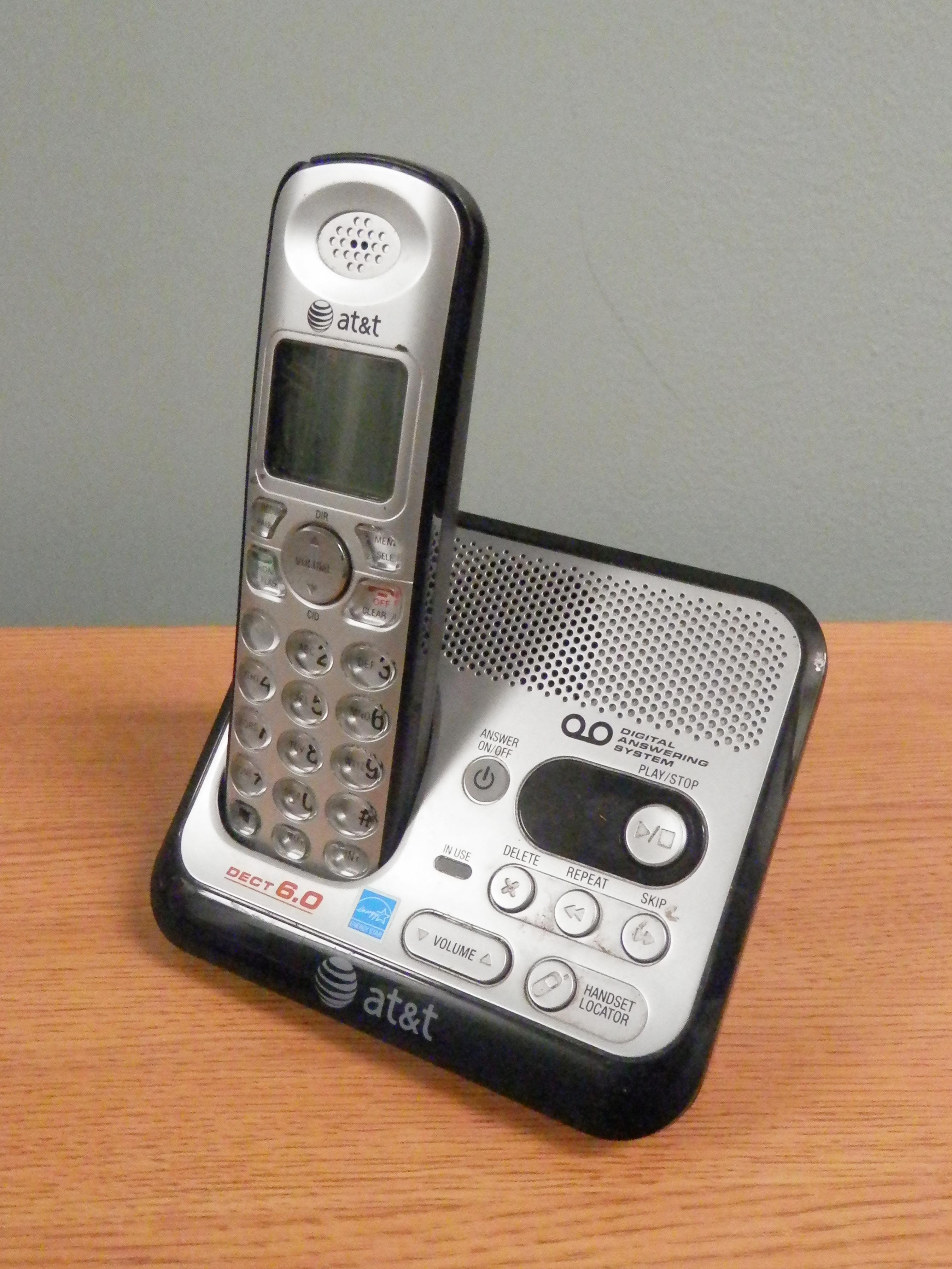 Cordless Phone ATT silver
