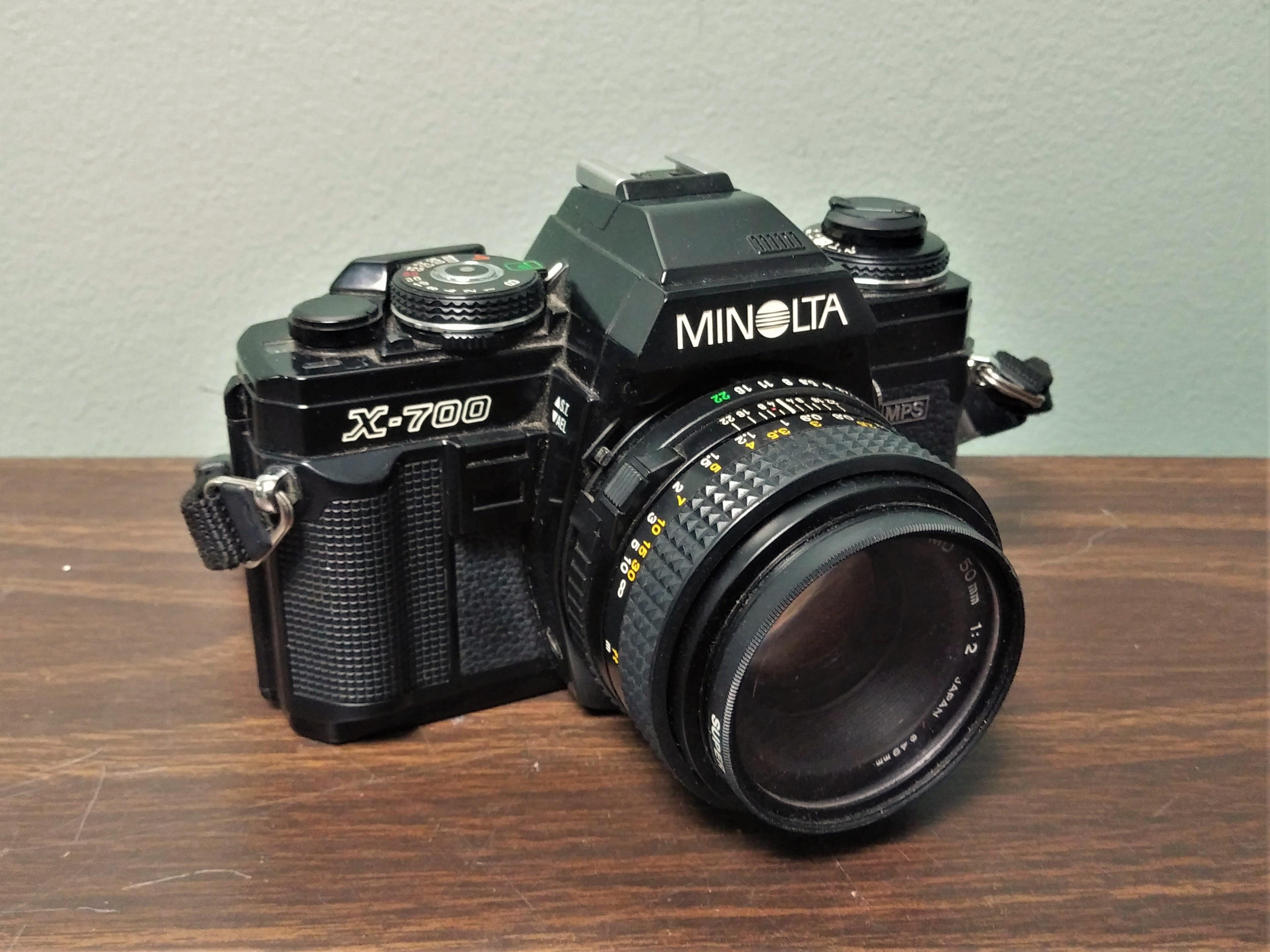 Minolta SLR Camera