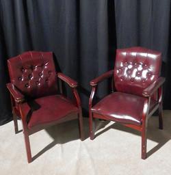 Executive Maroon Chairs