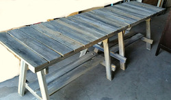 Serving Buffet Table - wood