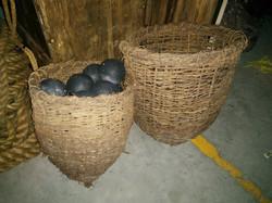 Wicker Primitive Baskets