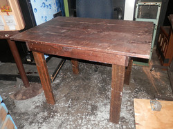 Rustic Small Wood Table