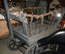 Wagon Cart with Tree Limb sides
