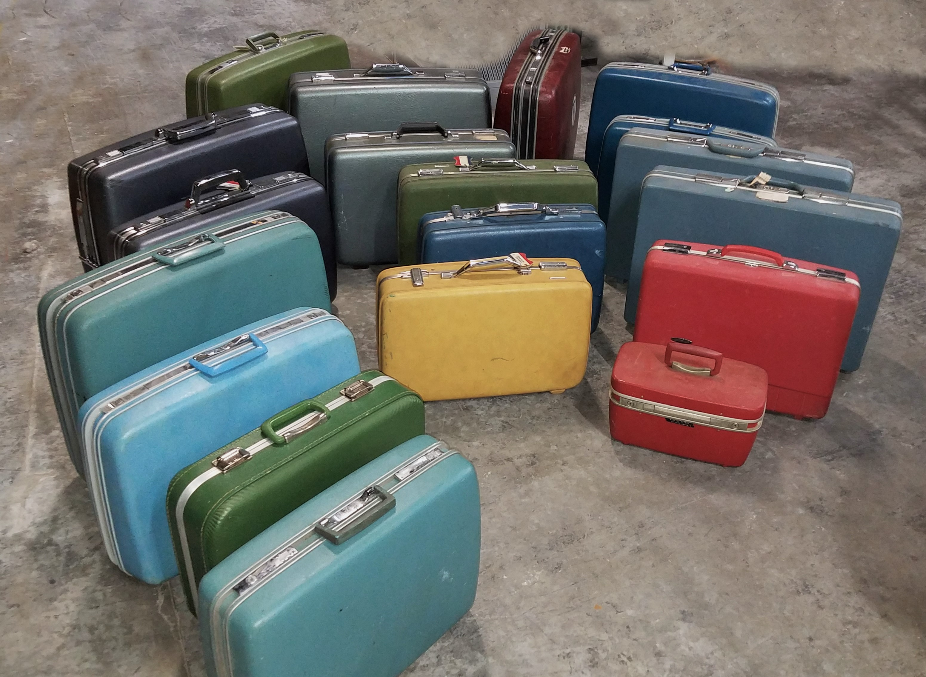 Luggage Vintage Samsonite 1950s to 1970s