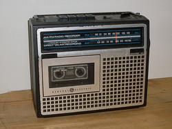 GE AM FM Radio Cassette Player Recorder