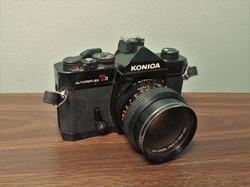 Konica SLR Camera
