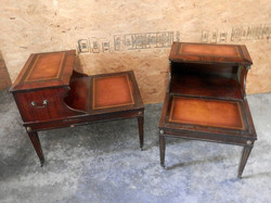 2 Tier Side Table Pair
