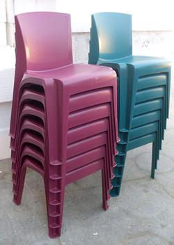 Prison Chairs plastic