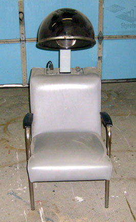 Hair Drying Chair - Gray_md