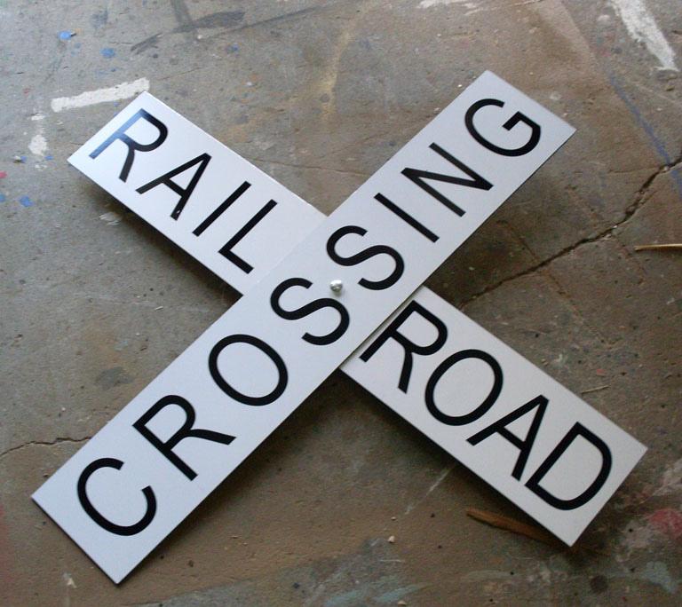 Sign - Railroad Crossing